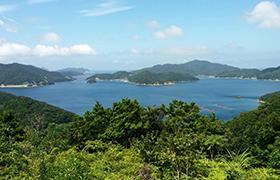五島八景のひとつ 若松瀬戸